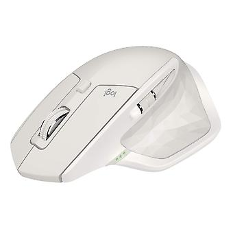 Logitech MX Master 2S Wireless Bluetooth Mouse for Mac and Windows - White