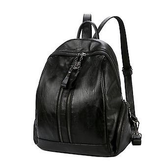 Backpack in black, 36x34x17 cm