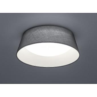 Trio Lighting Ponts Modern Grey Fabric Ceiling Lamp