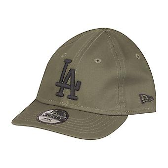 New Era 9Forty KINDER Infant Baby Cap - LA Dodgers oliv