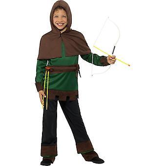 Disfraz de Robin Hood, disfraces niños, semana del libro, pequeña edad 4-6