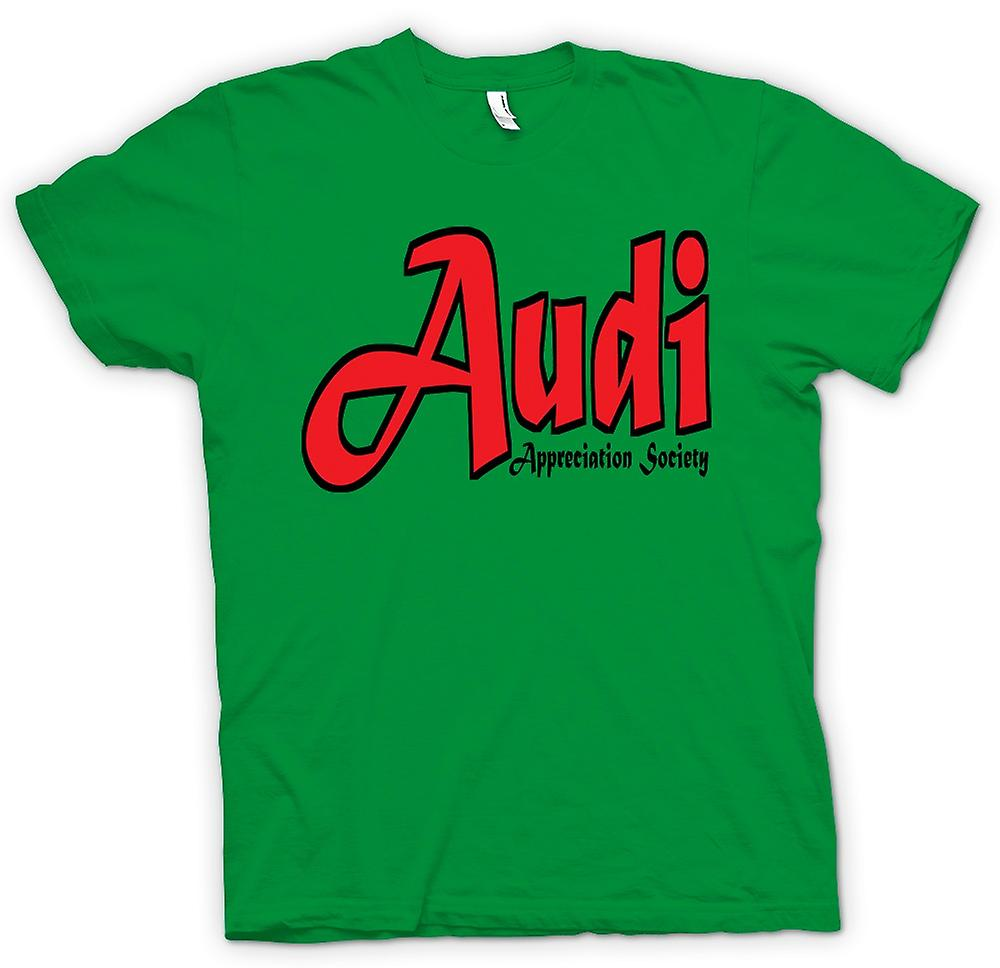Heren T-shirt-Audi Appreciation Society
