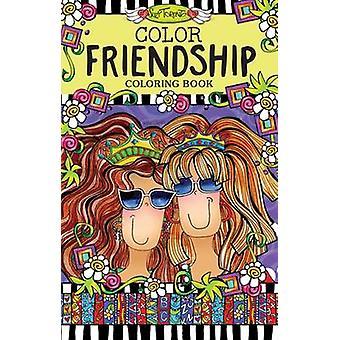 Color Friendship Coloring Book by Suzy Toronto - 9781497201590 Book