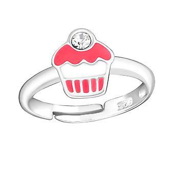 Cupcake - 925 Sterling Silber Ringe - W10681X