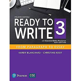 Prêt à écrire 3 avec des ressources essentielles en ligne