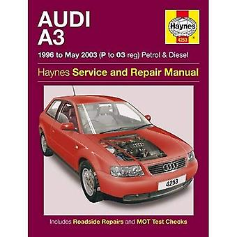 Audi A3 benzine & Diesel Service en reparatie handleiding: 1996 tot en met 2003 (Haynes Service en reparatie handleidingen)