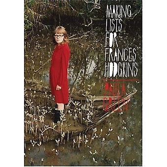 Att göra listor för Frances Hodgkins