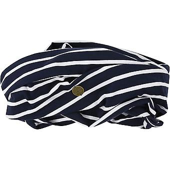 Regatta Womens/Ladies Shaila Coolweave Cotton Strip Jersey Scarf