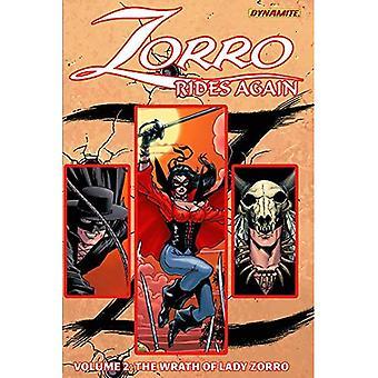 Zorro Rides Again Volume 2: The Wrath of Lady Zorro
