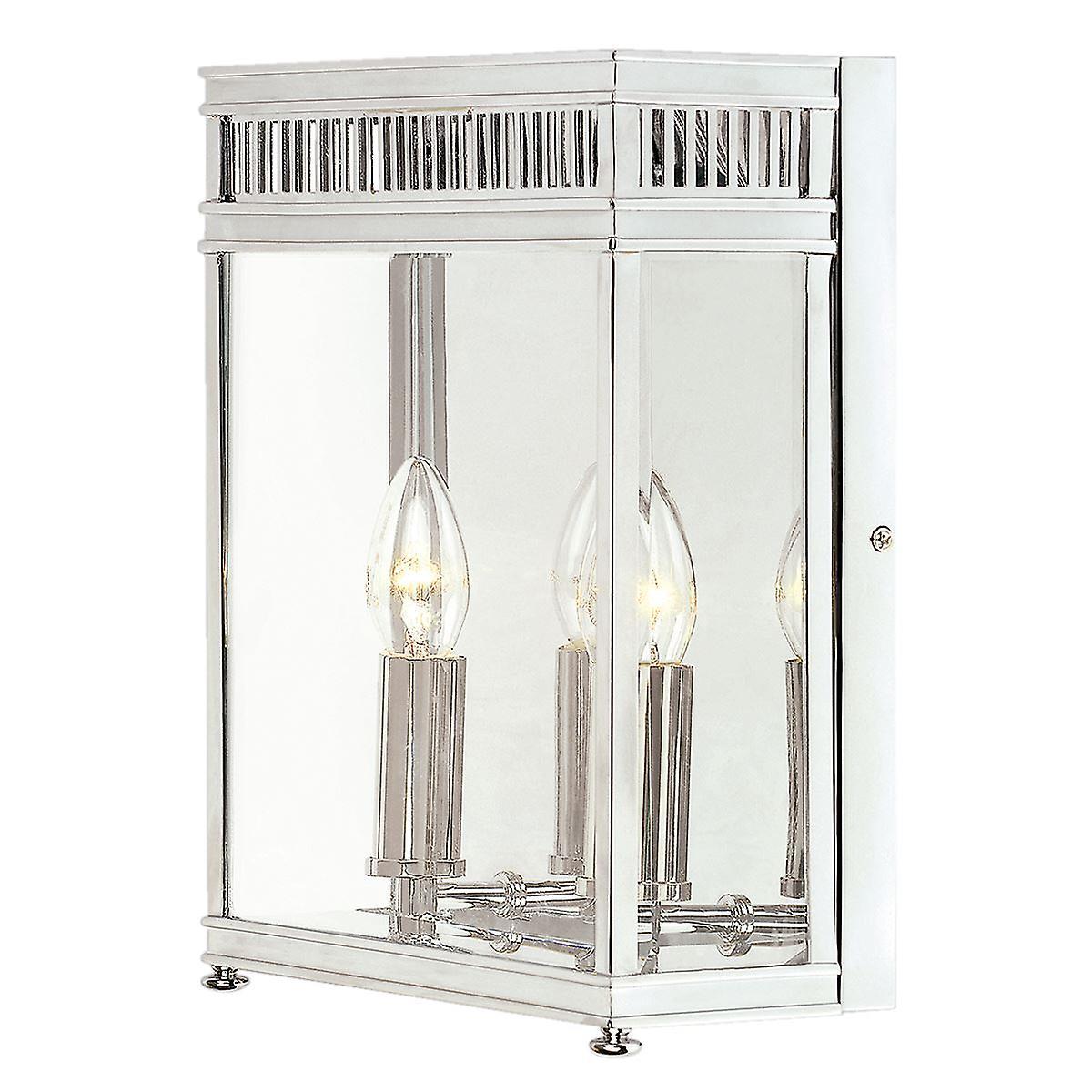 Holborn Half Lantern Medium Polished Chrome - Elstead lumièreing