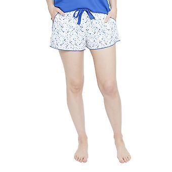 Cyberjammies 4135 Women's Mia White Spotted Pyjama Short