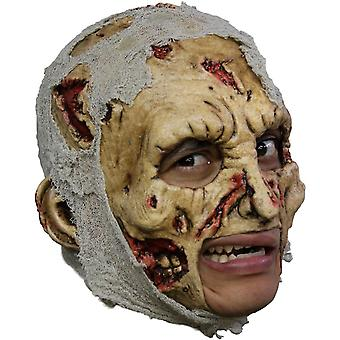 Zombie Dlx Chinless Adult Mask For Halloween
