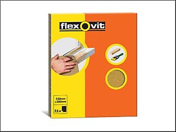 Flexovit Glasspaper Sanding Sheets 230 x 280mm Grade 1.5 (25)