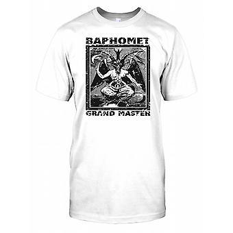 Baphomet Grand Master - konspirasjon Kids T skjorte