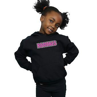 Ramones Mädchen überprüft Logo Hoodie