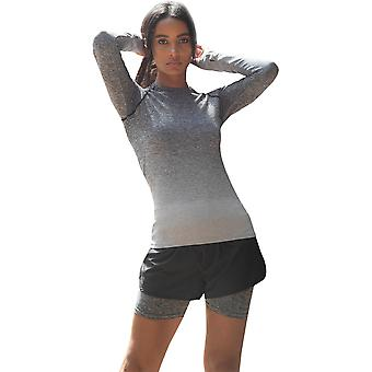 Outdoor Look Womens/Ladies Seamless Fade Out Long Sleeve Top