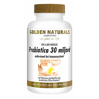 Golden Naturals Probiotics 30 billion 10 caps.