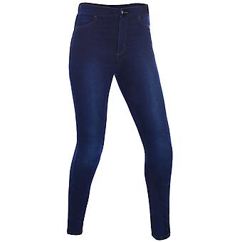 Oxford Indigo Super Jeggings - Short Womens Motorcycle Jeans