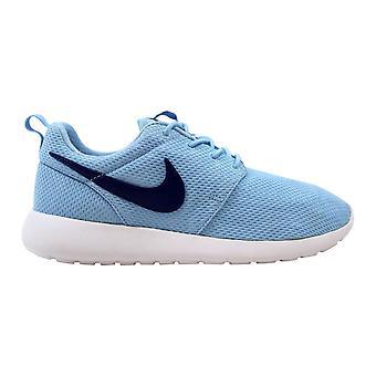 Nike Roshe One Bluecap/Deep Royal Blue-White 599729-410 Grade-School