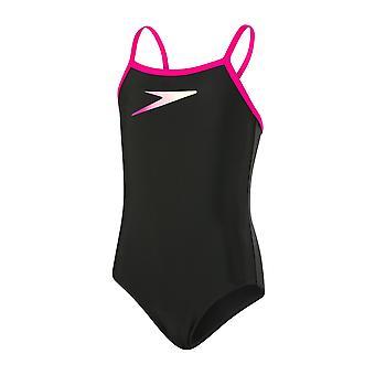 سبيدو وضع رقيقة العضلات الظهر ملابس السباحة للبنات