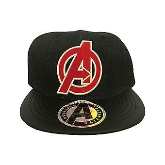 Vengeurs Baseball Cap Avenger Logo nouveau officiel Marvel Comics noir Snapback