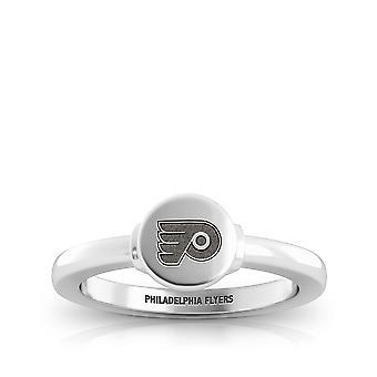 Philadelphia Flyers Flyers Logo Engraved Signet Ring