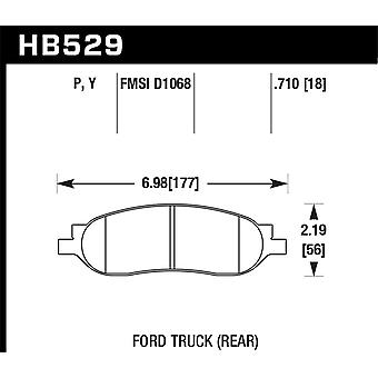Hawk Performance HB529Y. 710 LTS