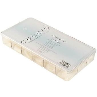 Cuccio Professional UltraClear Manicure Master Pack Tips (360 Tips) (15457)