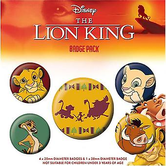 The Lion King Button Badge Set