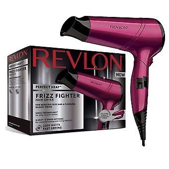 Revlon RVDR5229uk 2200w 2 Speed 3 Heat Ceramic Frizz Fighter Ionic Hair Dryer
