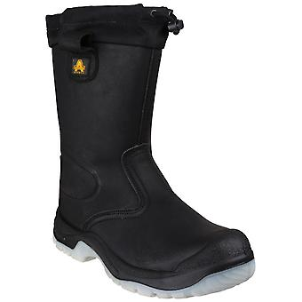 Amblers Safety Mens FS209 Water Resistant Pull On Safety Rigger Boot
