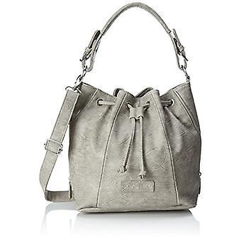 Fritzi aus Preussen Feline - Donna Grau Shoulder Bags (Metal) 13x22x33cm (B x H T)