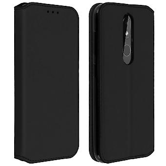 Slim Case, Classic Edition stand case with card slot for Nokia 3.2 - Black