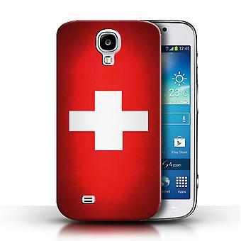 STUFF4 Case/Cover for Samsung Galaxy S4/SIV/Switzerland/Swiss/Flags