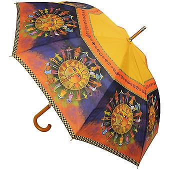 Laurel Burch Stick Umbrella 42