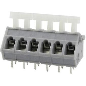 Spring-loaded terminal 3.31 mm² Number of pins 10 DG243-5.0-10P-11-00AH Degson Grey 1 pc(s)