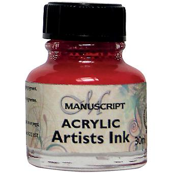 Manuscript Acrylic Artists Ink 30ml-Magenta MDP0-48