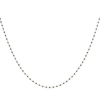 Brown Diamond Briolette Necklace - Length: 16 to 36