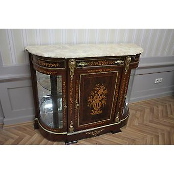 Baroque sideboard antique style chest marble baroque antique style Louis xv MkMo0050Bg