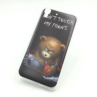 Mobile Shell voor Huawei G play mini Beer don't touch case cover + 1 x kogelbestendig glas