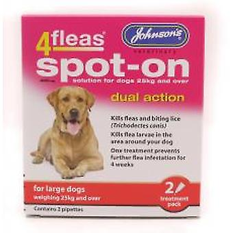 4fleas Spot-on Large Dog 2 Vial Pack (Pack of 6)