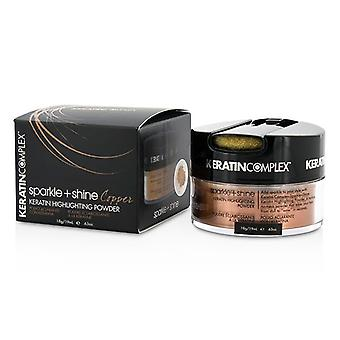 Keratin Complex Fashion Therapy Sparkle + Shine Keratin Highlighting Powder - # Copper 19ml/0.63oz