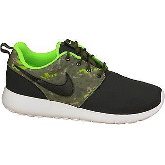 Nike Roshe en Print Gs 677782-008 barna joggesko
