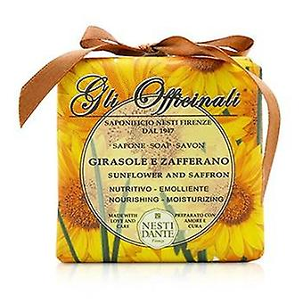 Nesti Dante Gli Officinali Soap - Sunflower & Zafferano - Nourishing & Moisturizing - 200g/7oz