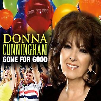 Donna Cunningham - borte for godt [DVD] USA import