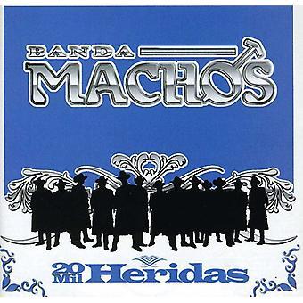 Banda Machos - 20 Mil Heridas [CD] USA import