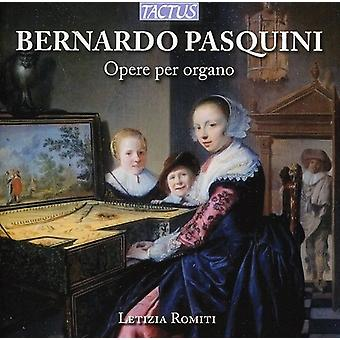Letizia Romiti - Bernardo Pasquini: Organ Works [CD] USA import