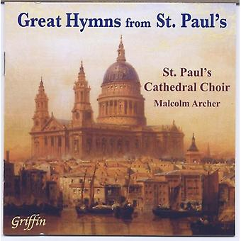 St. Paul's Cathedral kor - stor salmer fra st. Paul's [CD] USA importerer