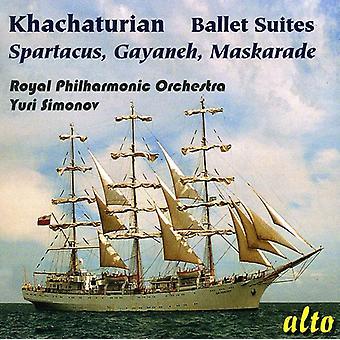 A. Khachaturian - Khachaturian: Ballet Suites - Spartacus, Gayaneh, Maskarade [CD] USA import