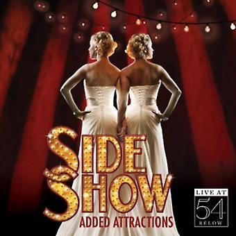 Side Show: Tilføjet attraktioner-Live på 54 under / Va - Side vise: tilføjet attraktioner-Live på 54 under / Va [CD] USA import